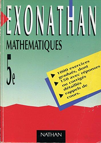 Mathématiques, 5e