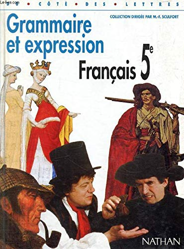 9782091714721 Du Cote Des Lettres 5e Francais Grammaire Et
