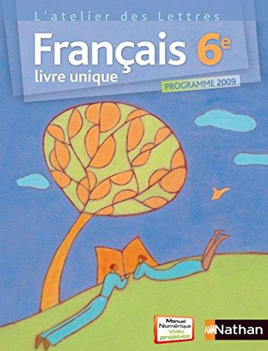 L'atelier des Lettres francais 6e (French Edition): Collectif