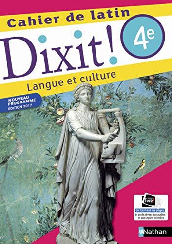 9782091717043: Dixit ! Cahier de Latin 4e 2017 (Latin dixit)