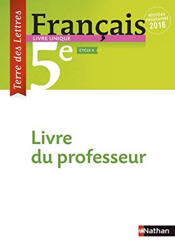 9782091717180 Francais 5e Terre Des Lettres Livre Du
