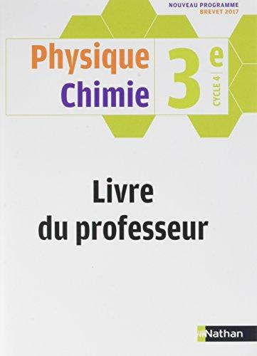 9782091719719: Physique Chimie 3ème - Livre du Professeur 2017