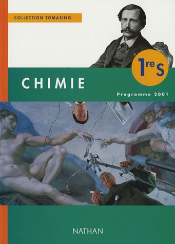 9782091721262: Chimie 1�re S : Programme 2001
