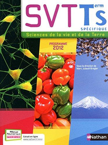 9782091721378: SVT Tle S : Programme 2012