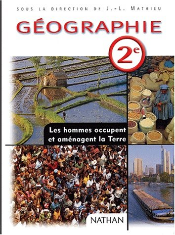 9782091722207: Géographie 2nde. Programme 2001