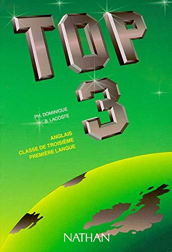 9782091722757: Top 3e. Livre de l'élève