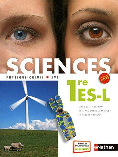 9782091722887: Sciences 1re ES-L