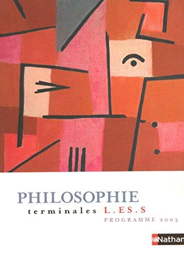 Philosophie Tle L-ES-S (Philosophie Lyc): Frank Burbage; Nathalie