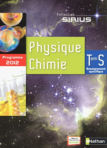 9782091723761: Sirius Physique Chimie Tle S