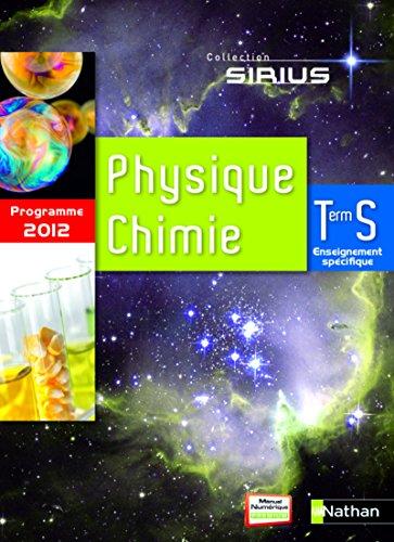 pack 2 tomes physique-chimie terminale s enseignement specifique 2012: Bernard Richoux, Val�ry ...