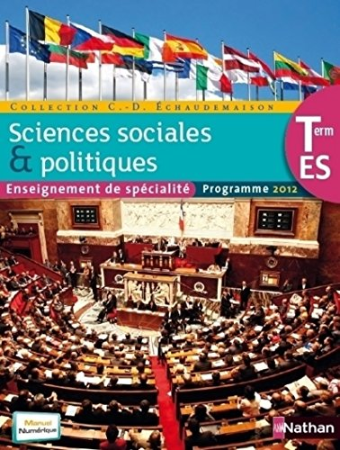 9782091726557: s.e.s.terminale eds sciences soc. polit.