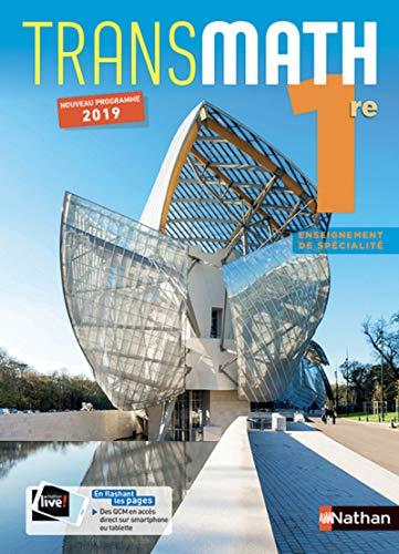 9782091726779: Mathématiques Transmath 1re - manuel élève (nouveau programme 2019)
