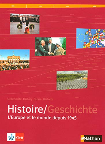 9782091727929: Manuel d'histoire franco-allemande Tle L-ES-S : L'Europe et le monde depuis 1945 (1CD audio)