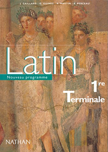 9782091728629: Latin 1re terminale eleve 2002 (French Edition)