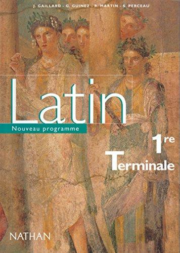 9782091728629: Latin 1re-Terminale
