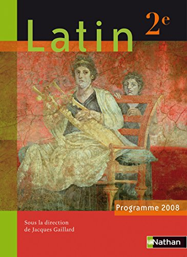 9782091728643: Latin 2e : Programme 2008