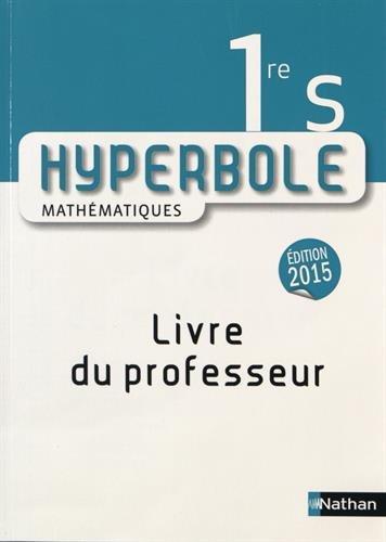 9782091728834: Hyperbole 1re S