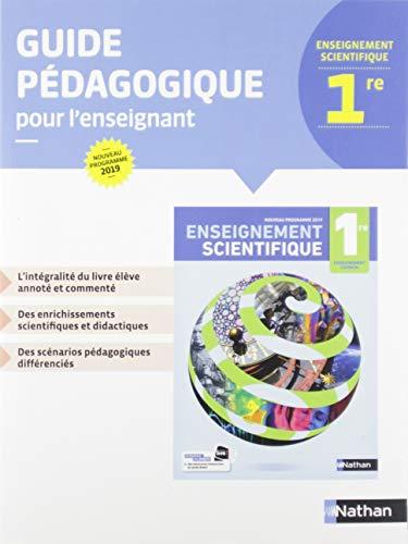 9782091729206: Enseignement scientifique 1re : Guide pédagogique pour l'enseignant