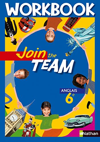 9782091737911: Join the team Anglais 6e : Workbook
