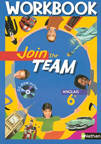9782091737928: Anglais 6e Join the Team : Workbook (1Cédérom)