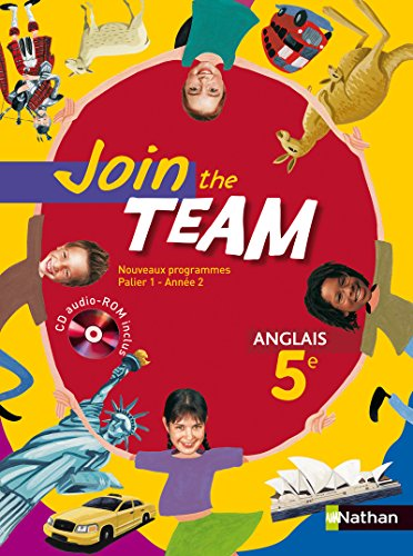 9782091737959: JOIN THE TEAM 5E 2007 + CD AUDIO-ROM Livre scolaire