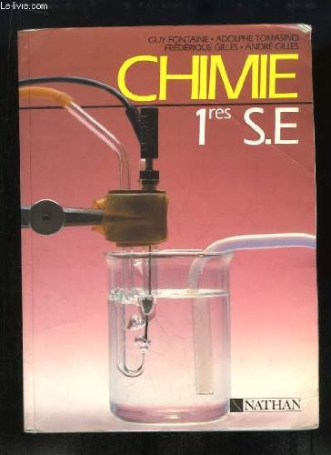 9782091747163: Chimie 1res S E,
