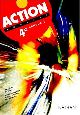 Action, Anglais 4e LV2, élève: Lacoste, Bernard