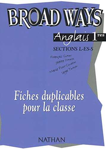 broad ways 1e fichier duplicable: Fran�ois Guary