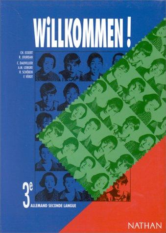 9782091756523: Willkommen 3e lv2 eleve (French Edition)