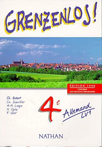 9782091756882: Grenzenlos, allemand, 4e, LV1. Livre de l'élève