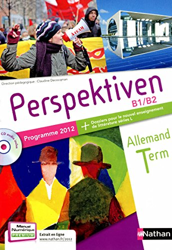 9782091757872: Allemand Tle Perspektiven B1/B2 : Programme 2012 (1CD audio)