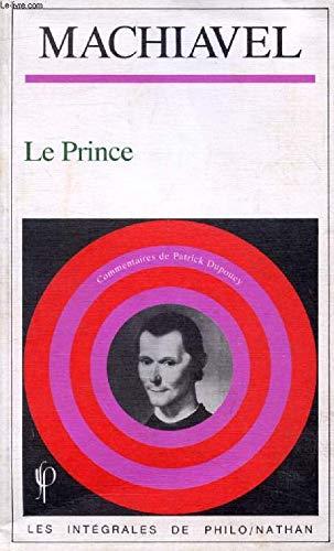 Le prince [Mar 01, 1990] Machiavel, Nicolas: Nicolas Machiavel