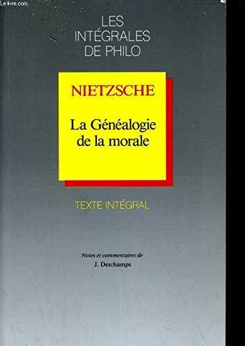 La Généalogie de la morale (9782091758657) by [???]