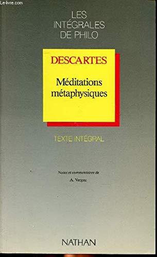 Meditations Metaphysiques (French Edition): Descartes, Rene