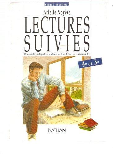 9782091760124: Lectures suivies, 4e-3e, élève