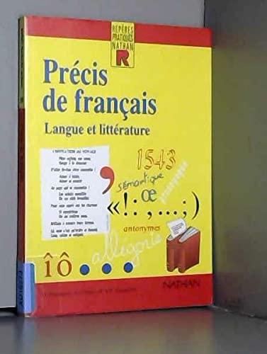 9782091771052: Reperes Pratiques: Precis De Francais - Langue Et Litterature (French Edition)