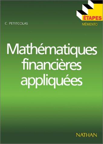 9782091771489: Mathématiques financières appliquées