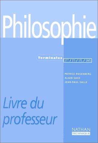 9782091775982: Philosophie - terminale STT, STI, STL, SMS