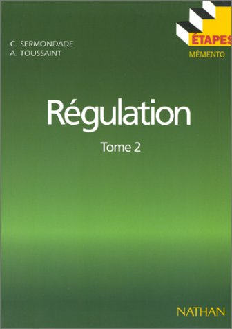9782091777436: Etapes 41 régulation t2 (French Edition)