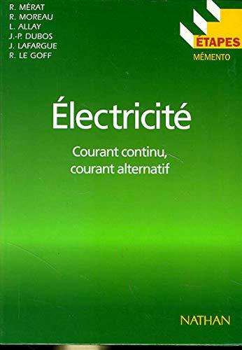 9782091779812: Etapes, numéro 50 : électricité, courant continu, courant alternatif