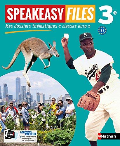 9782091780481: Speakeasy Files 3e