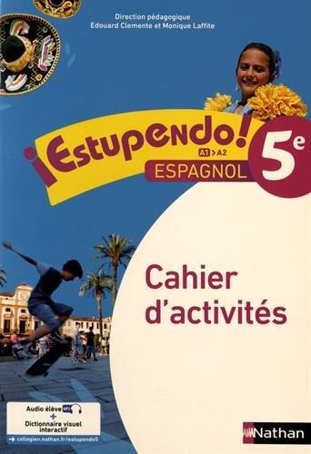 9782091781310: Estupendo Espagnol 5è 2016 - Cahier d'activités