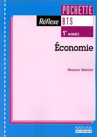 9782091786544: Economie, BTS 1re ann�e. Pochette