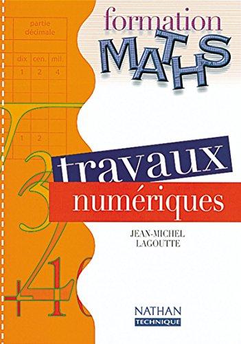 Form maths trav numériques el segpa 2000: Lagoutte Jean-Michel