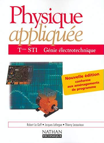 9782091791975: Physique appliquée, terminale, Bac STI - Génie électrotechnique