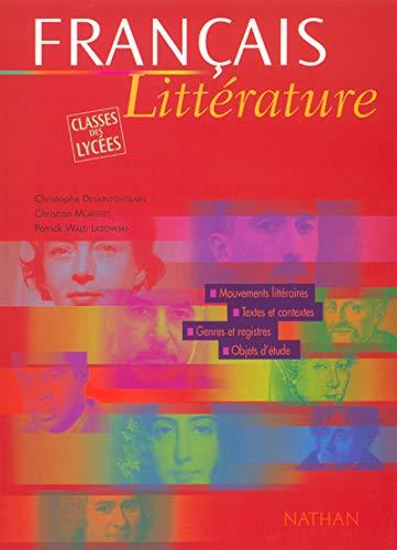 9782091793153: Français littérature, classes des lycées
