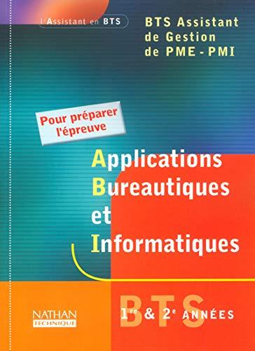Applications bureautiques et informatiques 1ère et 2ème: Doussy, Madeleine, Collectif
