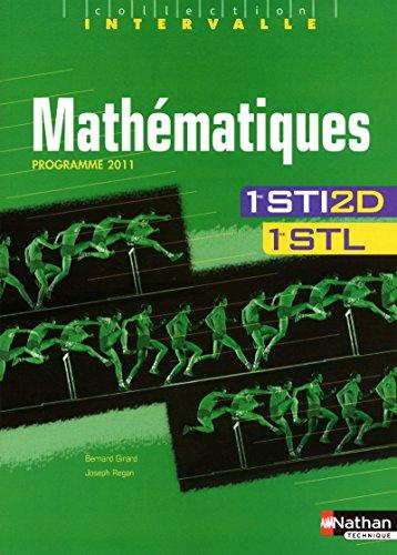 9782091794495: Math�matiques - 1res STI2D-STL