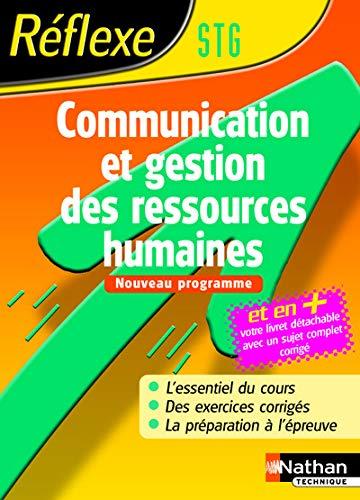9782091799353: Communication et gestion des ressources humaines STG