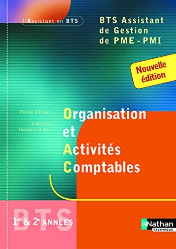 Organisation et Activités Comptables BTS Assistant de: Madeleine Doussy